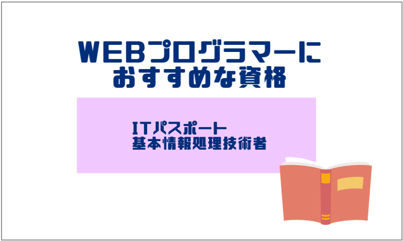 3.WEBプログラマーにおすすめな資格
